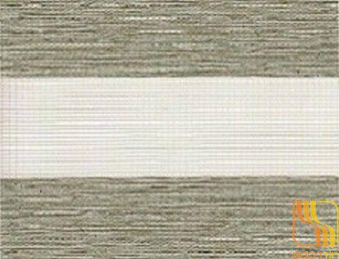 Rèm cuốn hai lớp cản nắng 80% màu xanh rêu tại Huế