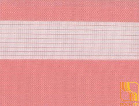 Rèm cuốn hai lớp màu hồng tại Huế