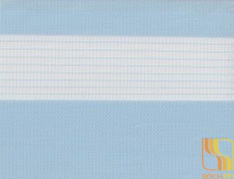 Rèm cuốn hai lớp màu xanh tại Huế
