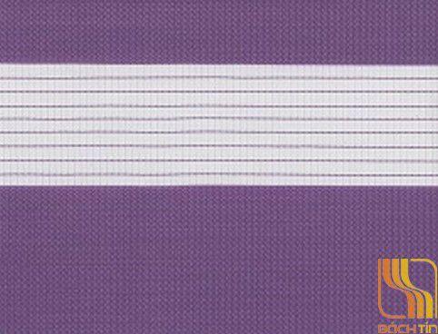 Rèm cuốn hai lớp xanh violet tại Huế