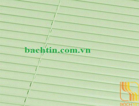 Rèm sáo nhôm màu xanh lá nhạt tại Huế