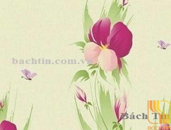 Rèm cuốn tranh hoa văn cao cấp 008-B