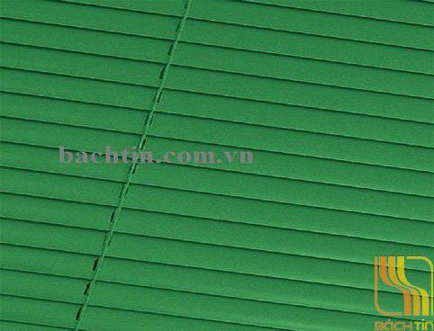 Rèm sáo nhôm màu xanh lá tại Huế