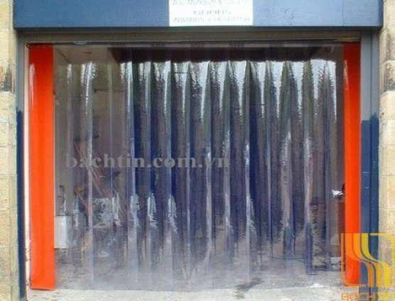 Rèm nhựa PVC ngăn cửa kho lạnh